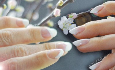 6 french nails designs