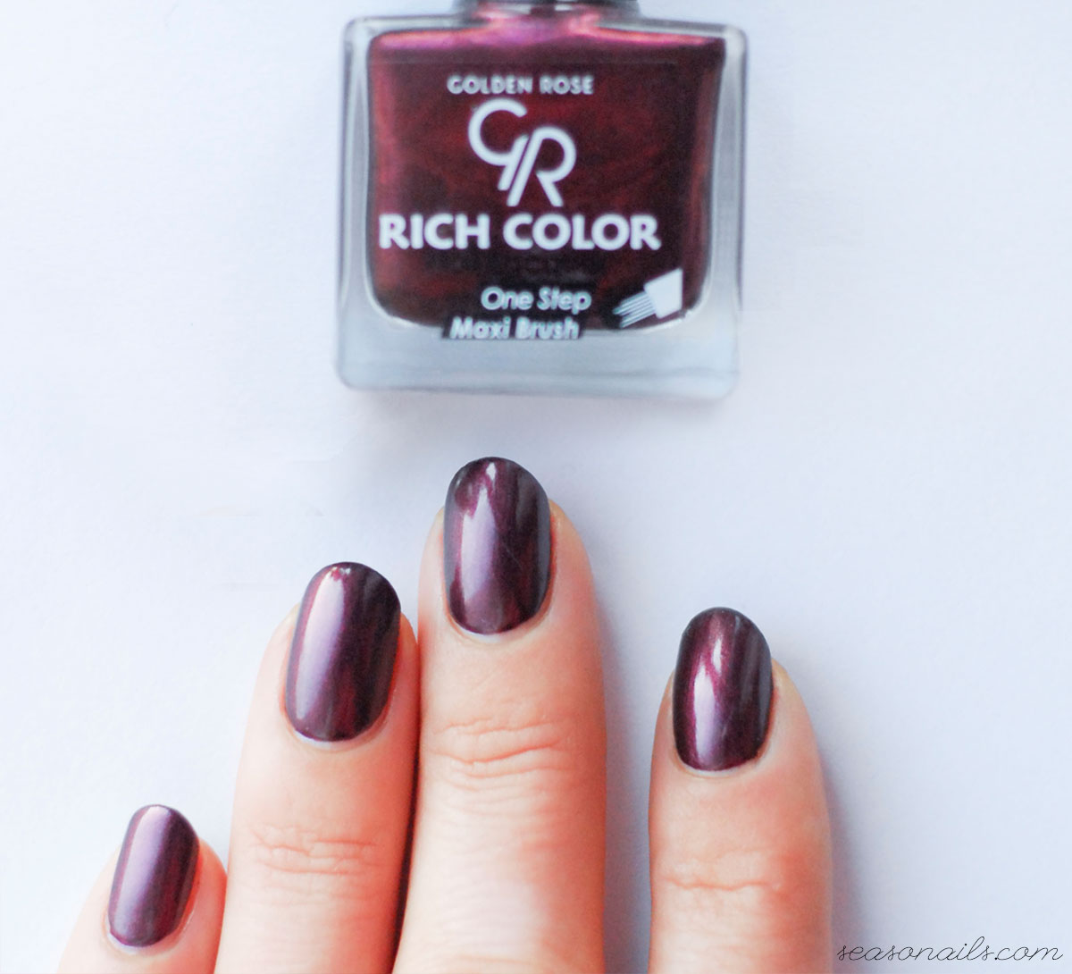 beautiful oxblood nails color on a budget