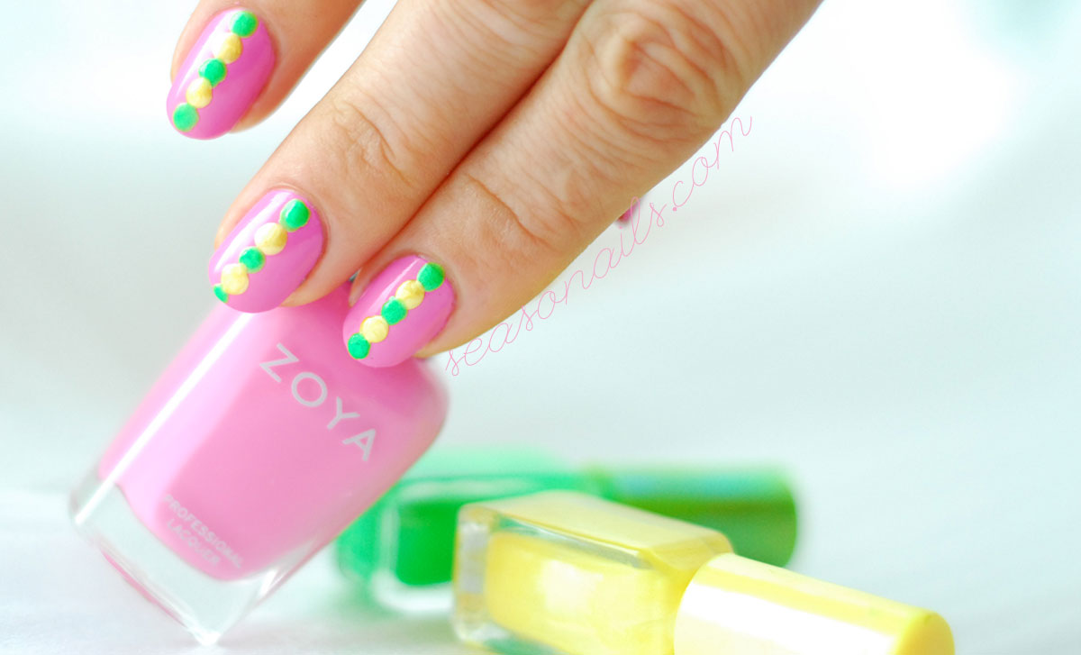 cancer awareness nails seasonails sonailicious