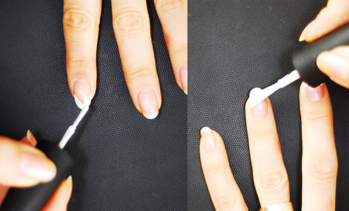 different french nails