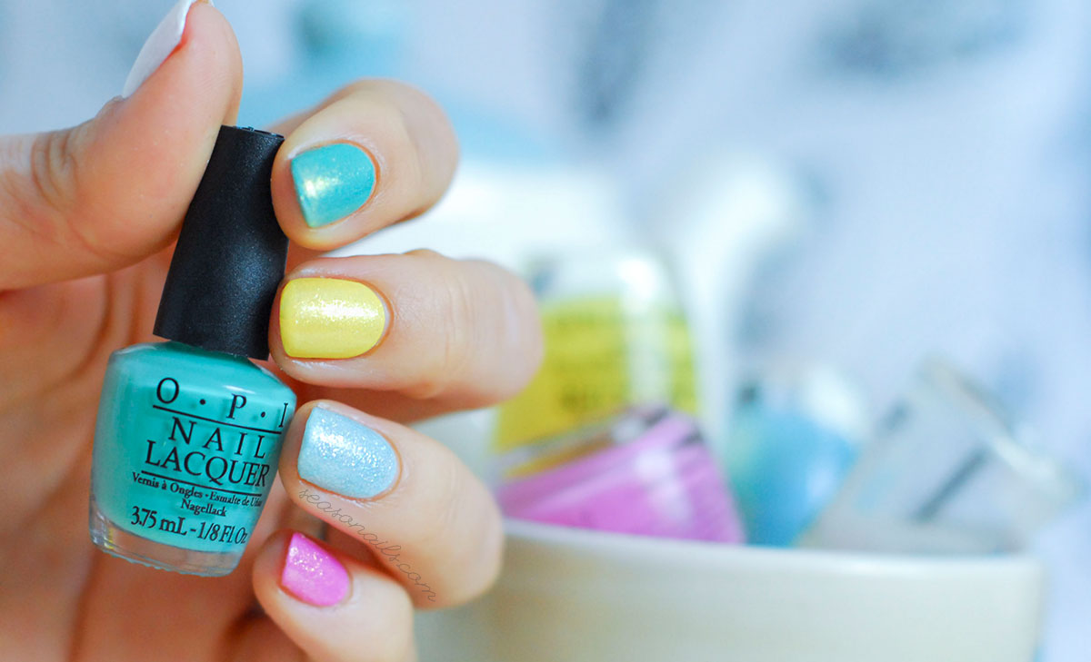 easiest spring summer nail art