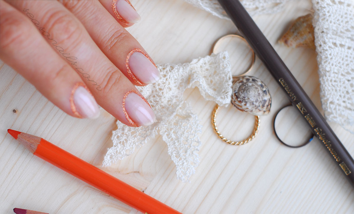 elegant nails fall wedding inspiration
