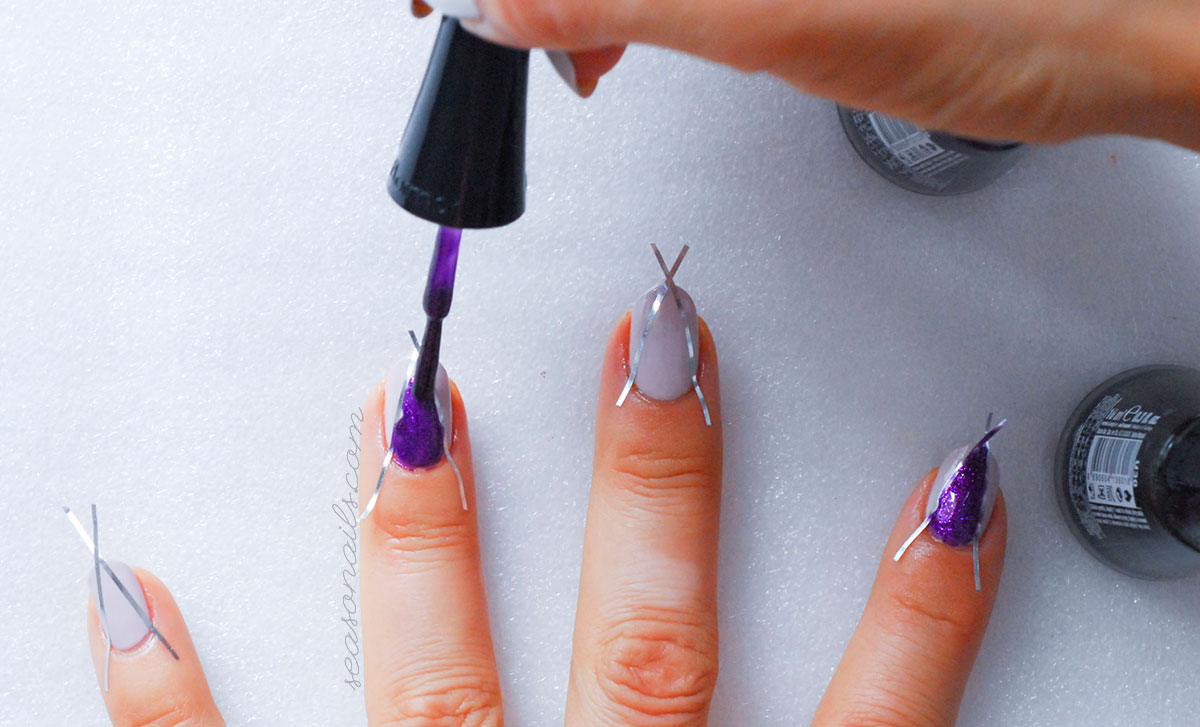fall nails stiletto how to