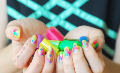 festival nails easy fabulous