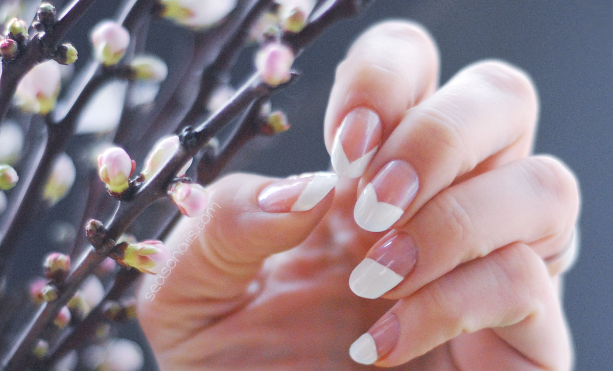6 Different French Nails Designs - Seasonails