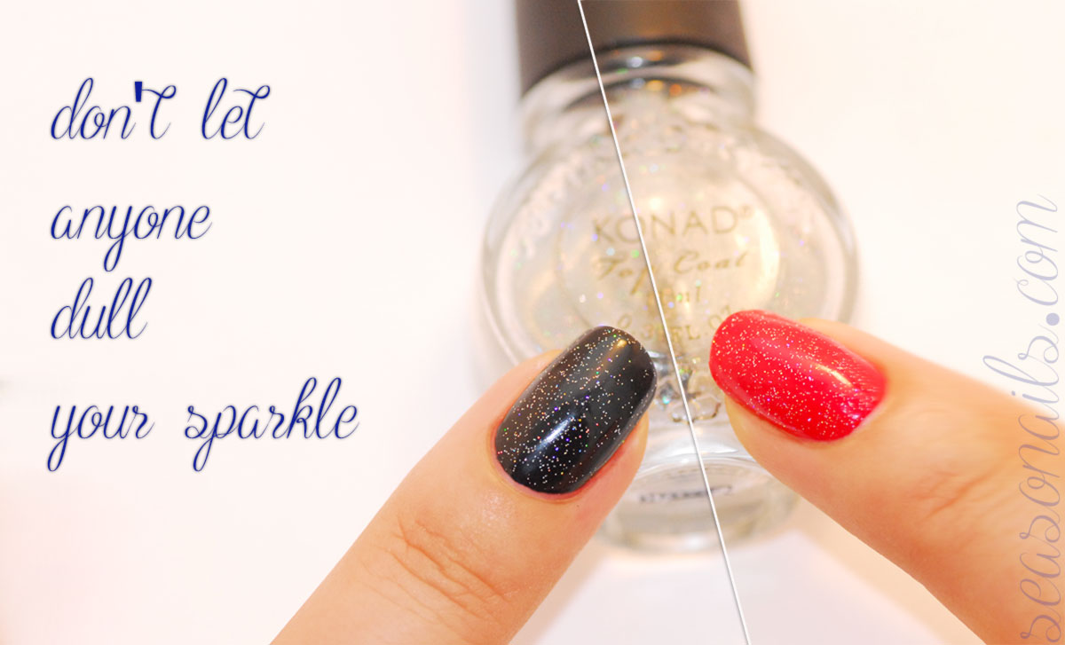 glittery topcoat essential nails guide seasonails