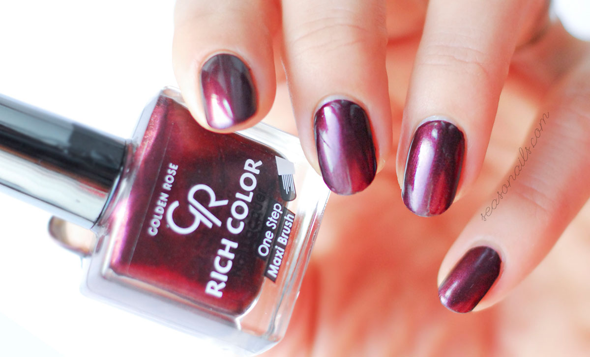 gorgeous nail polish color perfect for party