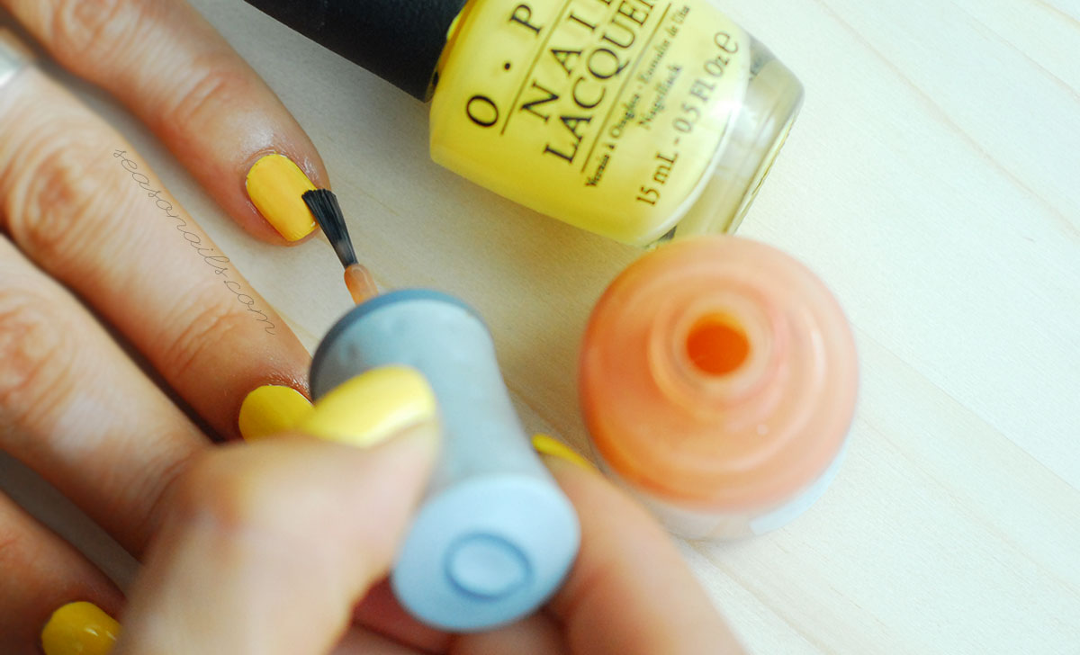 how to easy gradient nails