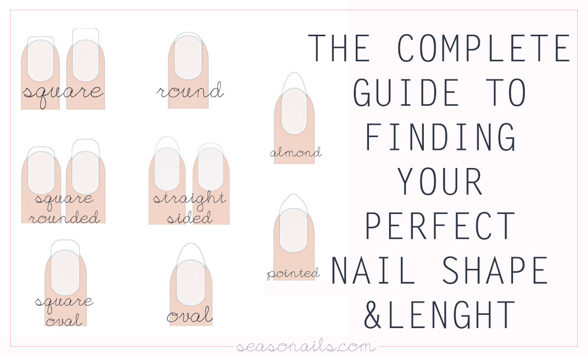 How To Find The Perfect Nail Shape Lenght For You