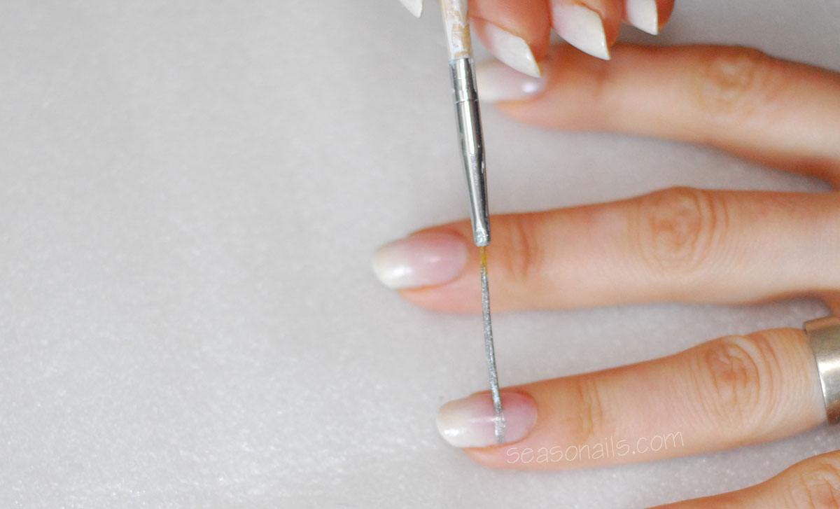 how to wedding bridal nails