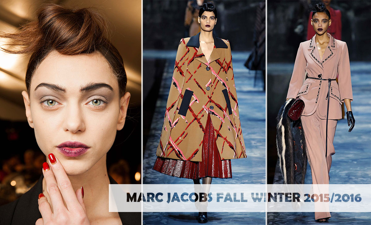 marc jacobs fall winter 2015 2016 nails