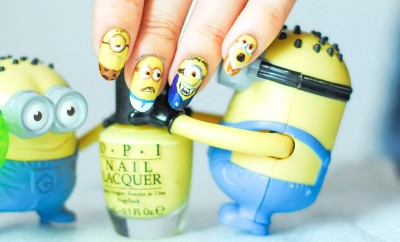 minions movie nails