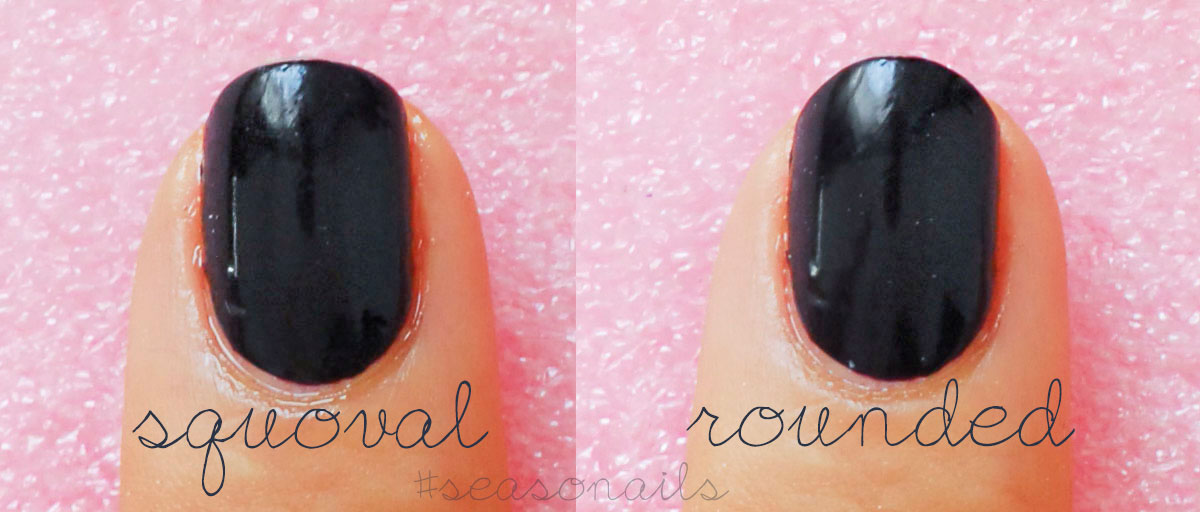 nails shape from square squoval to rounded