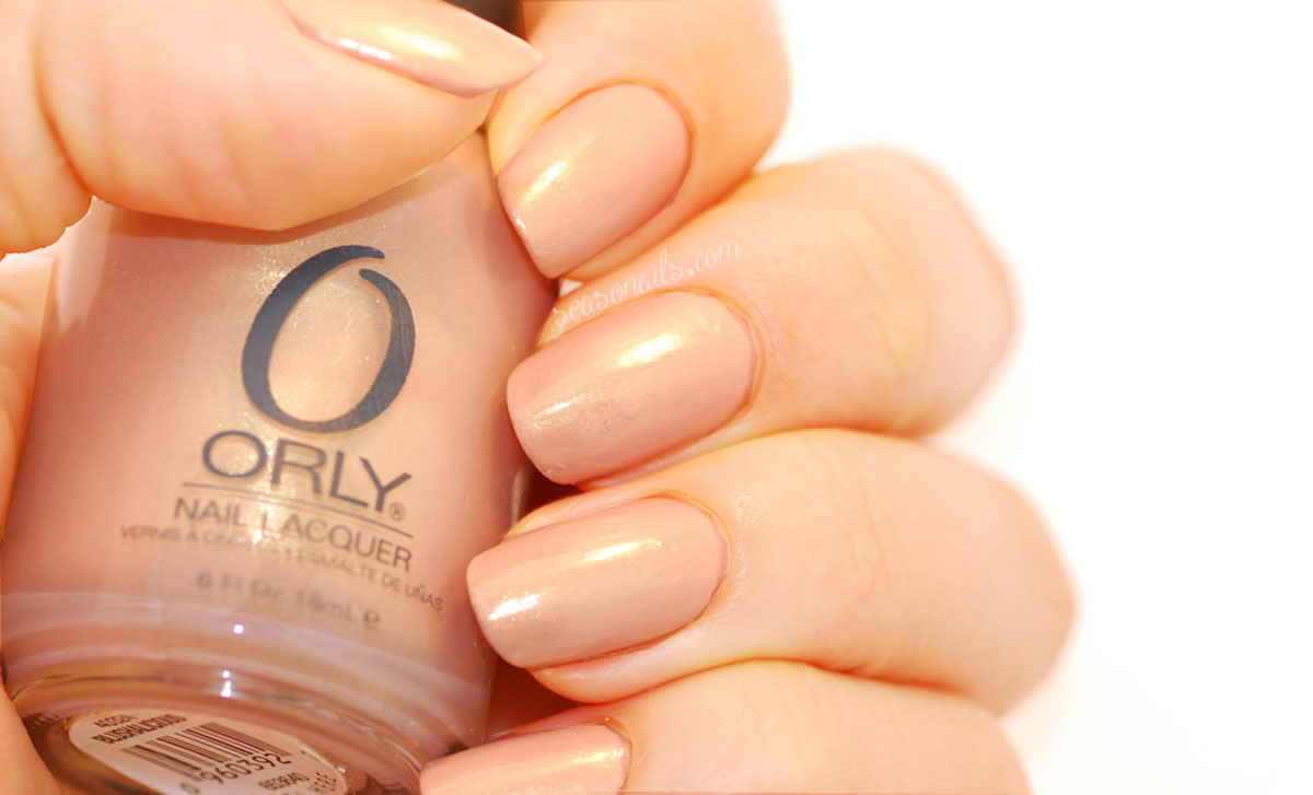 neutral nails Orly Blushalicious nail polish