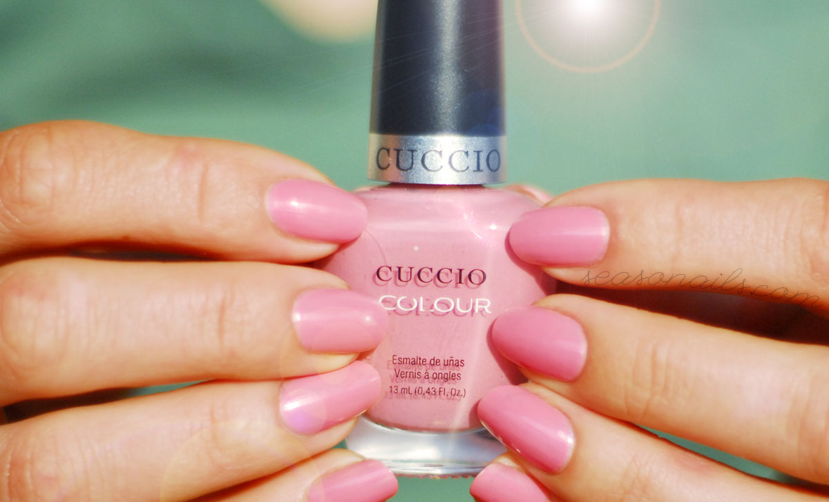 one coat pink cuccio turkish delight