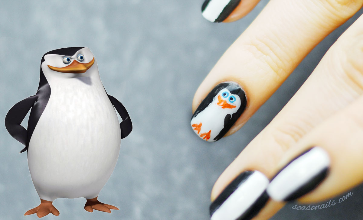 penguins of madagascar skipper nails