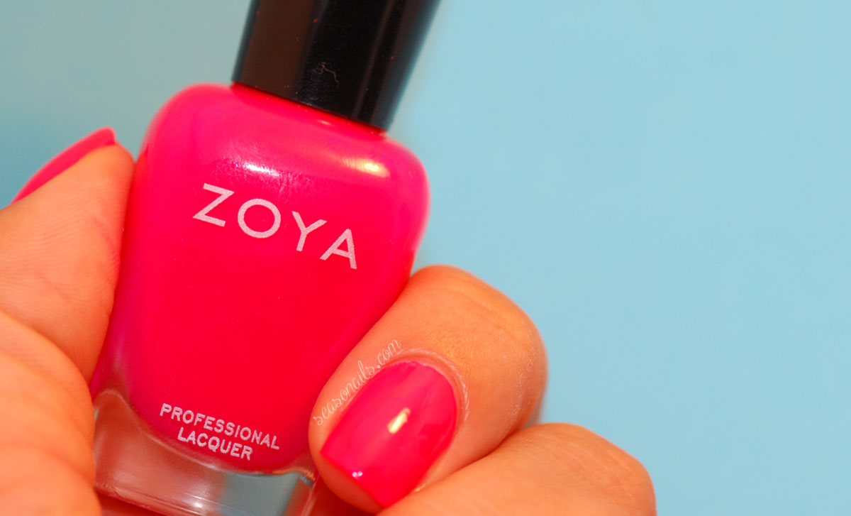 pink nails Zoya Ali Seasonails