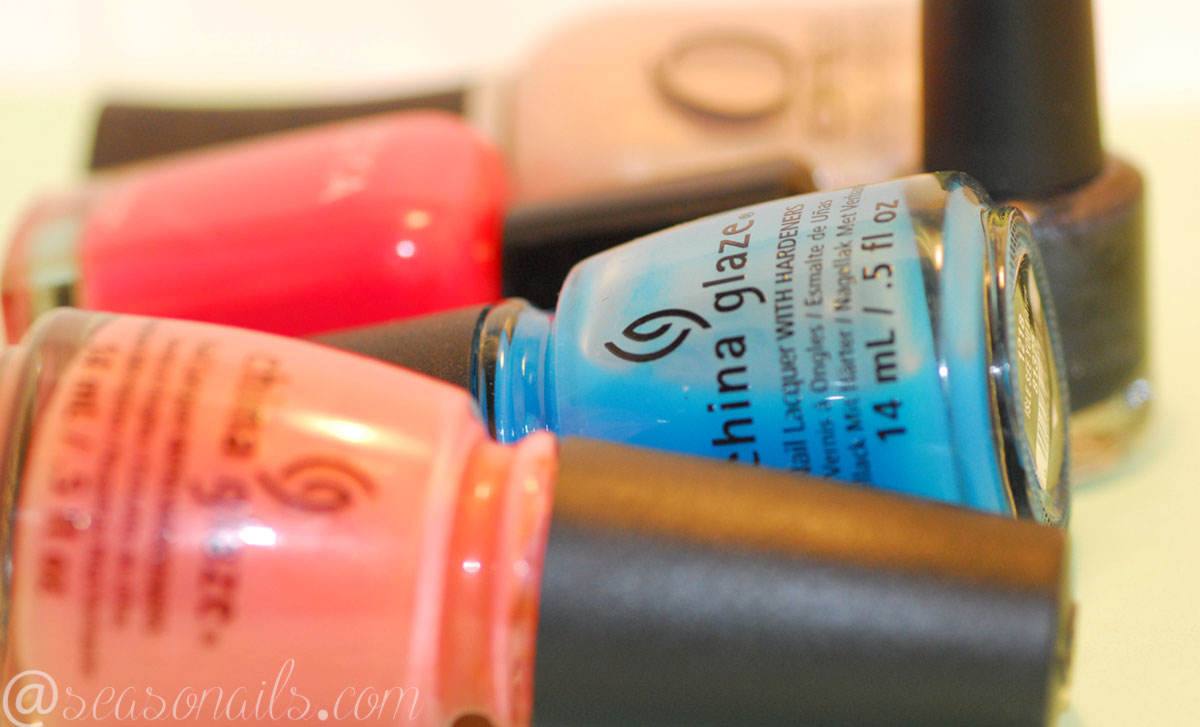 polishes needed for retro nails seasonails