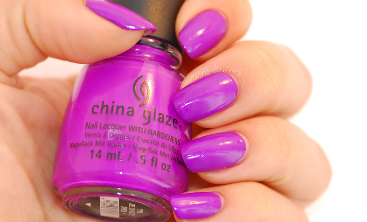 Purple China Glaze Are You Jelly
