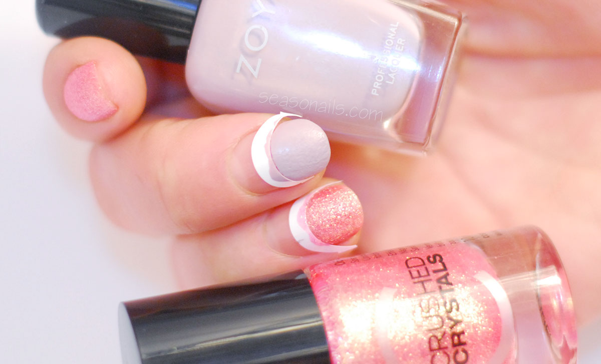 reversed french nails how to