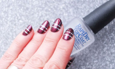 sophisticated elegant nails for party