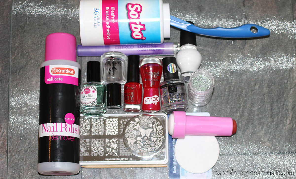 stamping nail art supplies