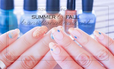 summer to fall nail art