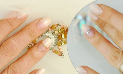 the perfect wedding bridal nails