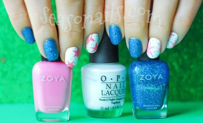 winter nails snowflakes stars zoya seasonails